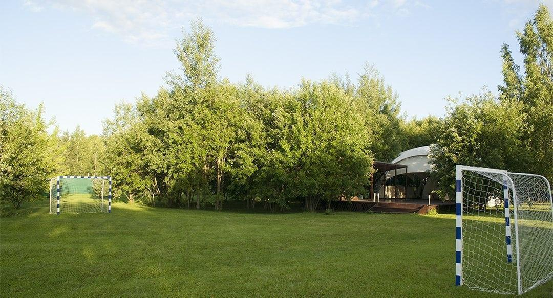 Зал - Шатёр (100 кв.м.) в зелёной зоне Поместье Галс