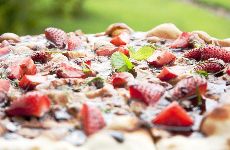 Пицца с Клубникой Поместье Галс