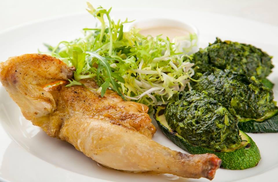 Запеченный цыплёнок