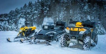 Снегоходы и квадроциклы