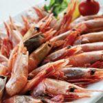 Креветки отварные Boiled shrimps