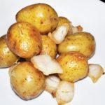 Картофель с курдюком Potatoes with fat tail