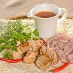 Шашлык из телятины Shashlik from veal