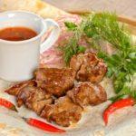 Шашлык из свиной шеи Shashlik from pork neck