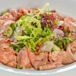 Зеленый салат с ростбифом Green salad with roast beef