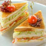 Сэндвич с лососем Sandwich with salmon