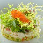 Салат с камчатским крабом Salad with kamchatka crab
