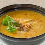 Суп пюре из красной чечевицы Soup puree of red lentils