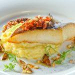 Филе палтуса с картофелем Fillet of halibut with potato
