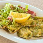 Мидии запеченные Baked mussels