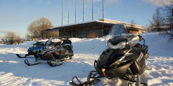 Зимние виды отдыха в Поместье Галс
