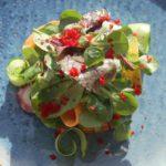 Салат с осьминогом. Octopus salad.