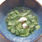 Суп щавелевый. Sorrel soup.