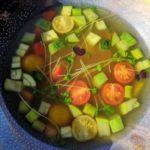 Суп Минестроне. Minestrone soup.