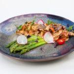 Спаржа с лисичками  / Asparagus with chanterelles